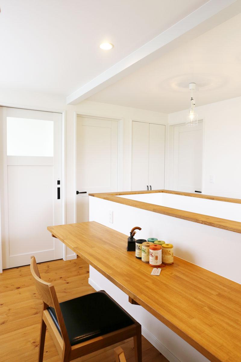 Mamanの家のフリースペース活用方法を事例で紹介♪広々としたホールに。【酒田鶴岡でヨーロッパテイストのおしゃれでかわいいカフェのような新築Mamanの家を手がける工務店 ナチュラル工房伊藤住宅】