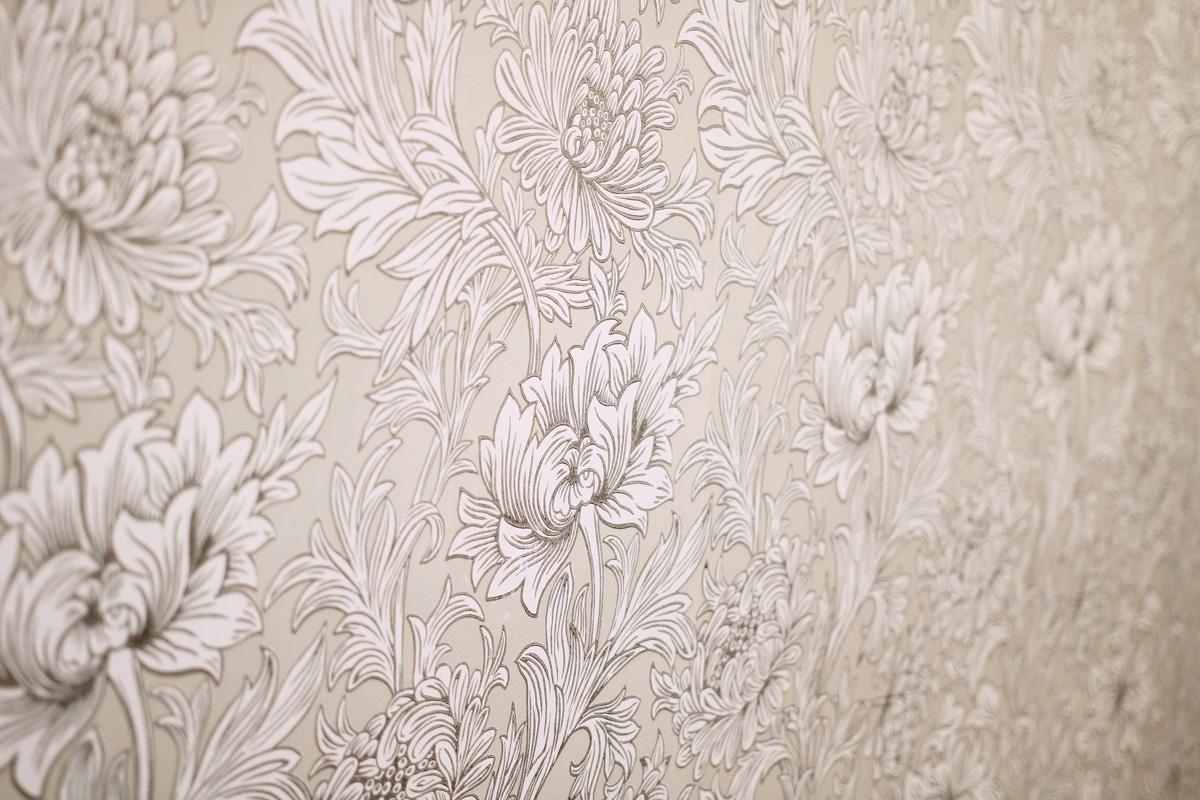 ウィリアム・モリスのボタニカルモチーフの壁紙